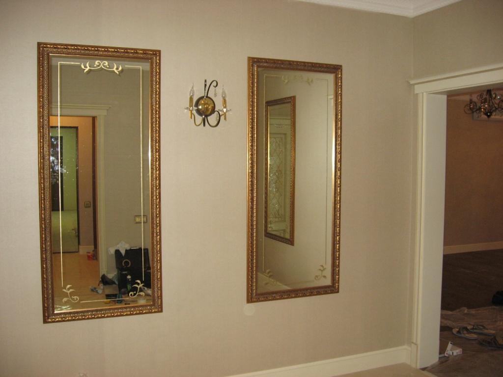 Фото зеркал оформление